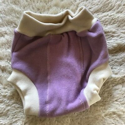Loveybums Pull-up Wool Diaper Cover Large Purple