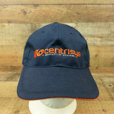 Centrisys Centrifuge Systems Hat Oil Gas Mining Cap Adjustable Navy Blue