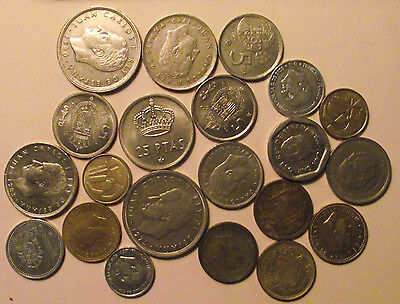 #1071 Spain: High Grade Lot of Spanish Coins...well over 4oz.