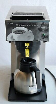 Newco Commercial Coffee Maker Model AKTC, stainless carafe, lightly used