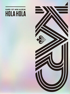[Free Tracking Code] Kard - Hola Hola (1st Mini Album) CD+Booklet KPOP Sealed
