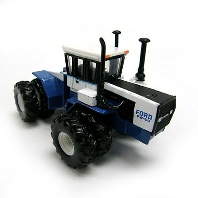 Ford Fw-60 Series Tractor 1977 Dual Wheels Front & Rear Diecast Scale 1/64 Ertl