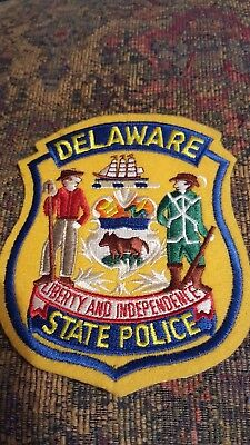 Collectible Delaware State Police Patch, New