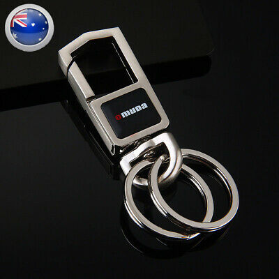 Stylish Metal Car Key Rings Collection Alloy Chain Heavy Duty Gift Keyring