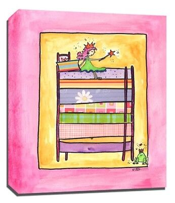 Princess Fairy, Prints or Canvas Wall Art Decor, Kids Bedroom Baby Nursery