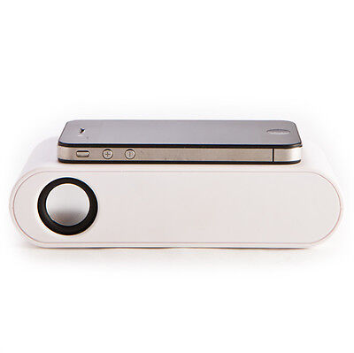 *BRAND NEW* White Smart Phone Wireless Induction Speaker- PURE SOUND QUALITY!
