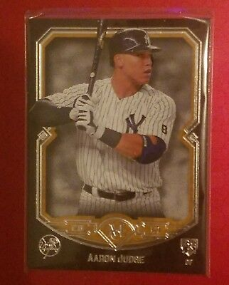Aaron Judge Rookie Card RC 2017 Topps Museum Collection Gold/Copper
