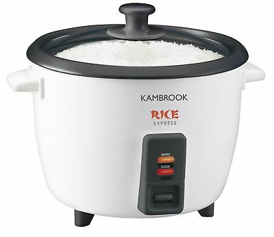 Kambrook 5 Cup Express Rice Cooker Steamer KRC5 Non Stick Removable Bowl