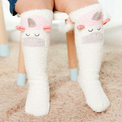 Baby Toddler Kid Animal Warm Knee High Floor Socks Tights Leg Warmer Stockings