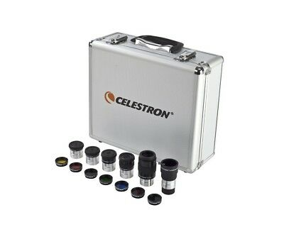 "Celestron 1.25"" Eyepiece and Filter Kit 94303 - Eyepieces, filters, case + more!"
