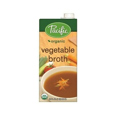NEW  PACIFIC FOODS Organic Vegetable Broth