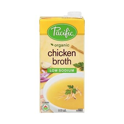 NEW  PACIFIC FOODS Organic Low Sodium Chicken Broth