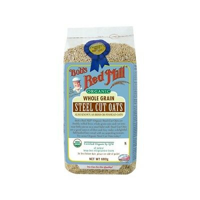 NEW  BOB'S RED MILL Organic Steel Cut Oats 680g