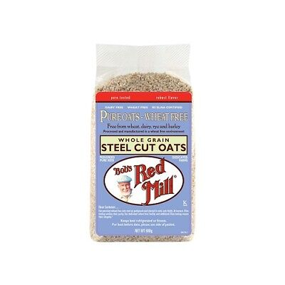 NEW  BOB'S RED MILL Pure Wheat Free Steel Cut Oats 680g