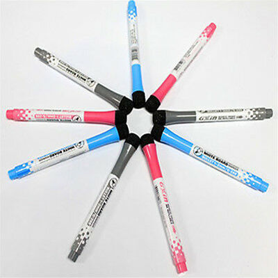 Flexible Fridge Magnetic Whiteboard Memo Reminder Board Pen Magnet With Pen  PQ