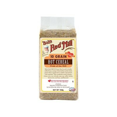 NEW  BOB'S RED MILL 10 Grain Hot Cereal 708g