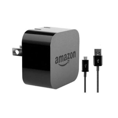 Amazon Kindle Fire HD 9W Powerfast AC USB Wall Charger Adapter + Micro USB Cable