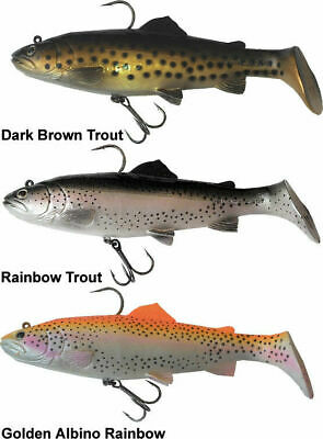 savage gear 3d trout rattle shads 12.5cm-17cm -20.5cm and 27.5cm crazy price
