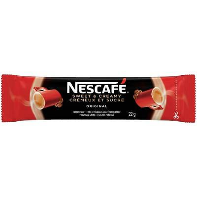 10x Individual 22g Packages of NESCAFE - ORIGINAL Sweet & Creamy From CANADA