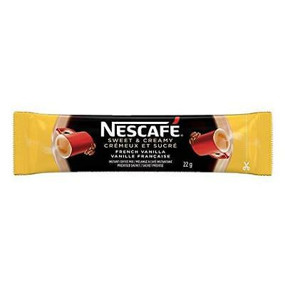 10x Individual 22g Packages of NESCAFE-FRENCH VANILLA Sweet & Creamy From CANADA