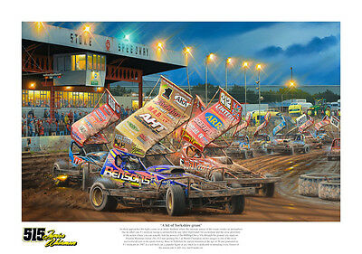 brisca f1 stock car print of FWJ