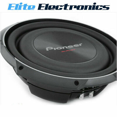 """Pioneer Ts-Sw2002D2 8"""" 600W Shallow Mount Car Subwoofer Free Air Repl Ts-Sw841D"""