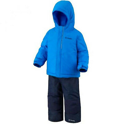 baby boy 2pc SKI SUIT by COLUMBIA 6/12M JACKET & SALOPETTES (74cm) BNWT