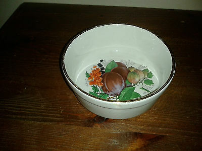 Dartmouth Pottery preserve pot/pin dish made for Elsenhamquality foods ltd