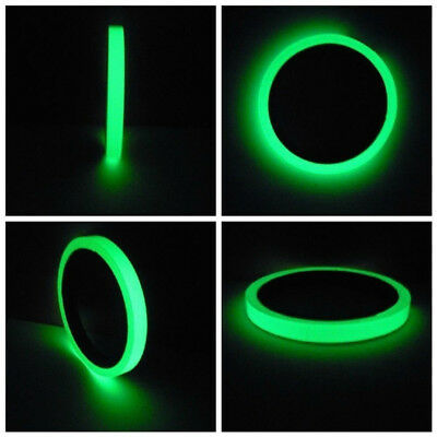 Self-adhesive Luminous Tape Strip Glow In The Dark Home Decoration Safe New