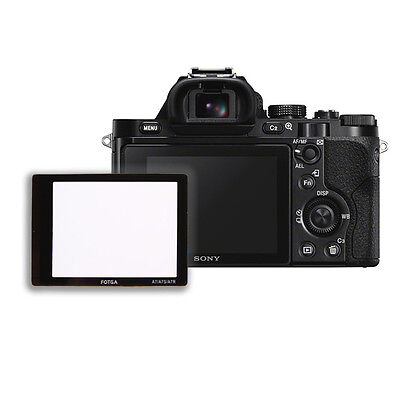 FOTGA LCD Screen Protector Optical Glass For Sony Alpha A7 A7R A7S ILCE-7 ILCE-7