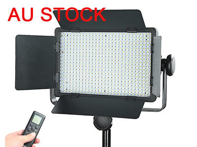 AU Godox LED500C 3300K-5600K Bi-color Studio LED Video Light + Remote Control