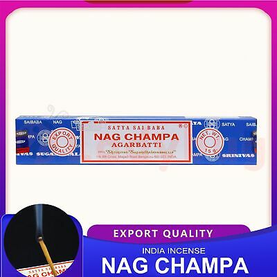 FRESH SATYA SAI BABA - NAG CHAMPA INCENSE STICKS - Bulk Pack -15g