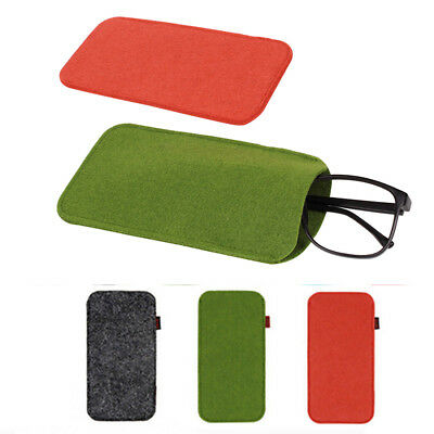 Protable Eyeglass Pouch Glasses Case Sleeve Cosmetic Bag Soft Pencil Storage UK