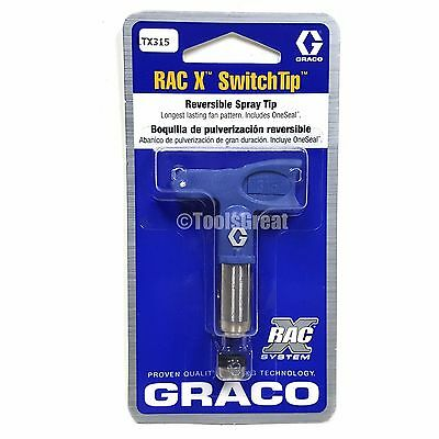 Graco Rac X SwitchTip  LTX315 Latex Paint Spray Tip 315