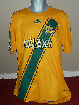 LA Galaxy Home Shirt XL Men's Beckham  on the back 2006-07  VGC!!