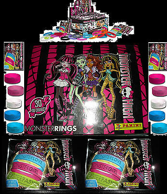 Panini MONSTER HIGH-MONSTER RINGS Armbänder Armband Bracelets Monsterring