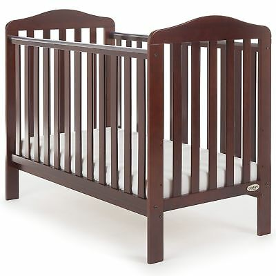 Obaby Ludlow Nursery / Bedroom Cot Bed | From Birth Baby | Walnut