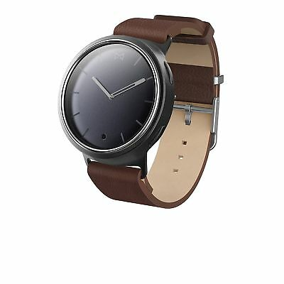 MISFIT PHASE HYBRID SMARTWATCH Brown Leather Strap