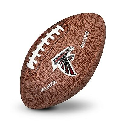 Atlanta Falcons NFL Team Logo Mini Size Rubber Football H628