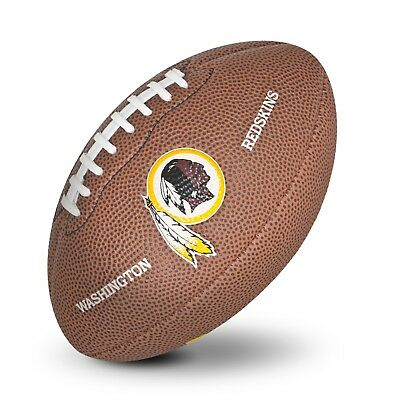 Washington Redskins NFL Team Logo Mini Size Rubber Football H619