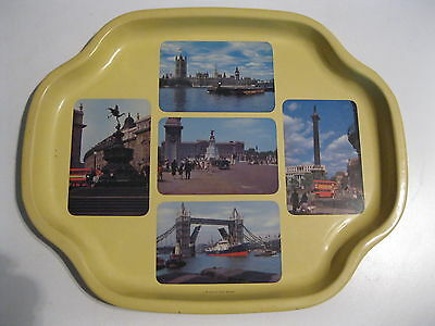Vintage Collector's Tray - London, England by Worcester Ware