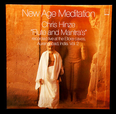 """Chris Hinze   ---  """" Flute And Mantra´s / New Age Meditation  Vol.2 """"  --- Nm"""