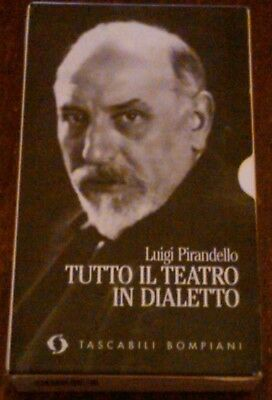 Luigi Pirandello - Tutto Il Teatro In Dialetto , 2 Volumi Con Custodia ,1994