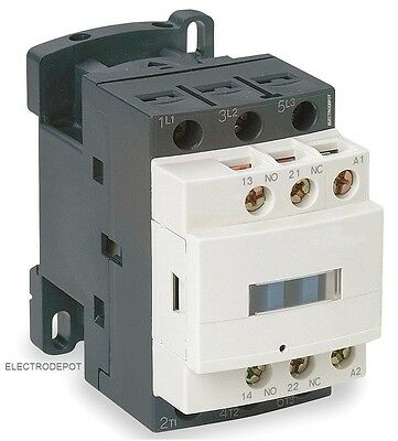 30 Amp CONTACTOR 3 Pole 120V 30A, 32A Lighting Heating, Motor 18A AC3 NO NC