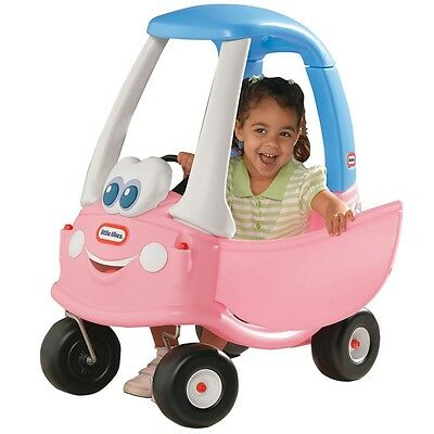 Little Tikes Cozy Coupe Pink, Classic Kids Ride On Car