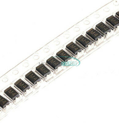 100PCS LL4004 M4 1N4004 DO-214 SMD 1A 400V Rectifier Diodes