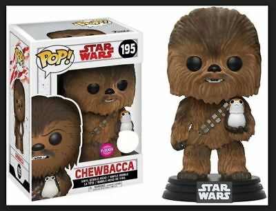 Funko Pop! Chewbacca (Flocked) - FYE Exclusive w free protector