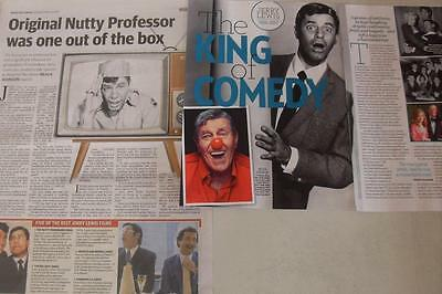 JERRY LEWIS*August 2017*Australian Magazine & Newspaper Clipping*