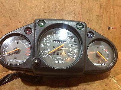 kawasaki Ninja 250 08 09 10 Dash Rev Counter Speedometer Clock Instrument Gauge