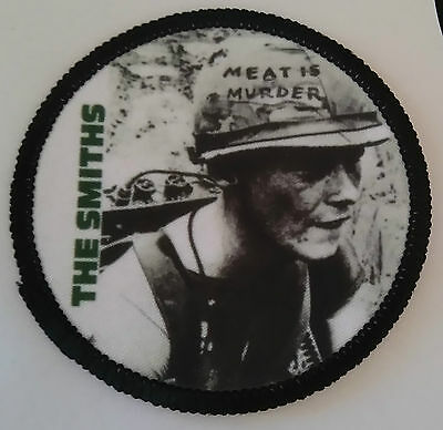 THE SMITHS Patch parche MEAT IS MURDER vegan morrisey vegetarian